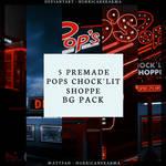 5 Premade Pop's BG Pack [PSD FILE]