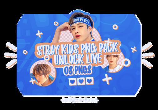 PNG PACK 10: STRAY KIDS (unlock live concert 2)