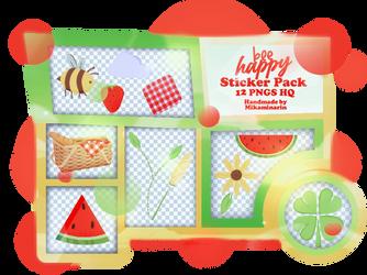 STICKER PACK 02: BEE HAPPY