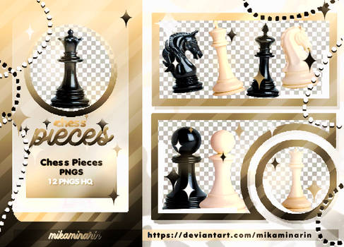 STICKER PACK 05: CHESS PIECES