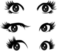 Eyes Brushes by Mallagueta-Pepper