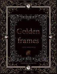 Golden frames by Lyotta