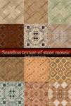 Seamless texture flooring