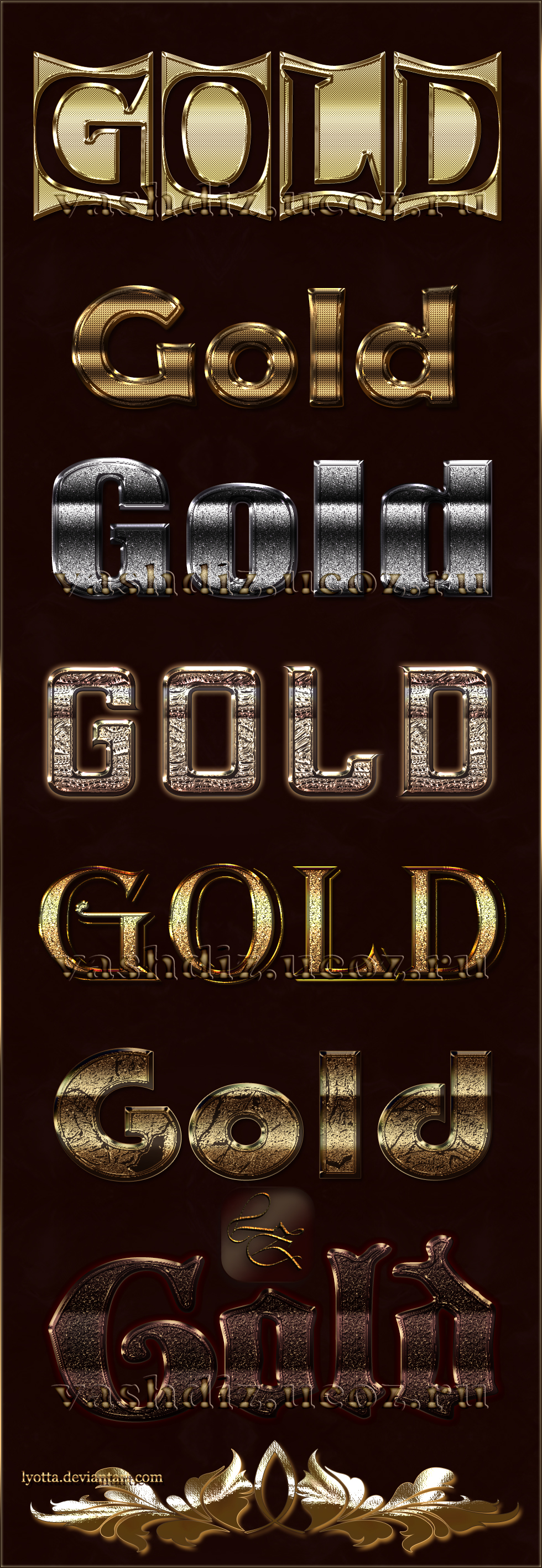 LZ 08 Golden Style by Lyotta