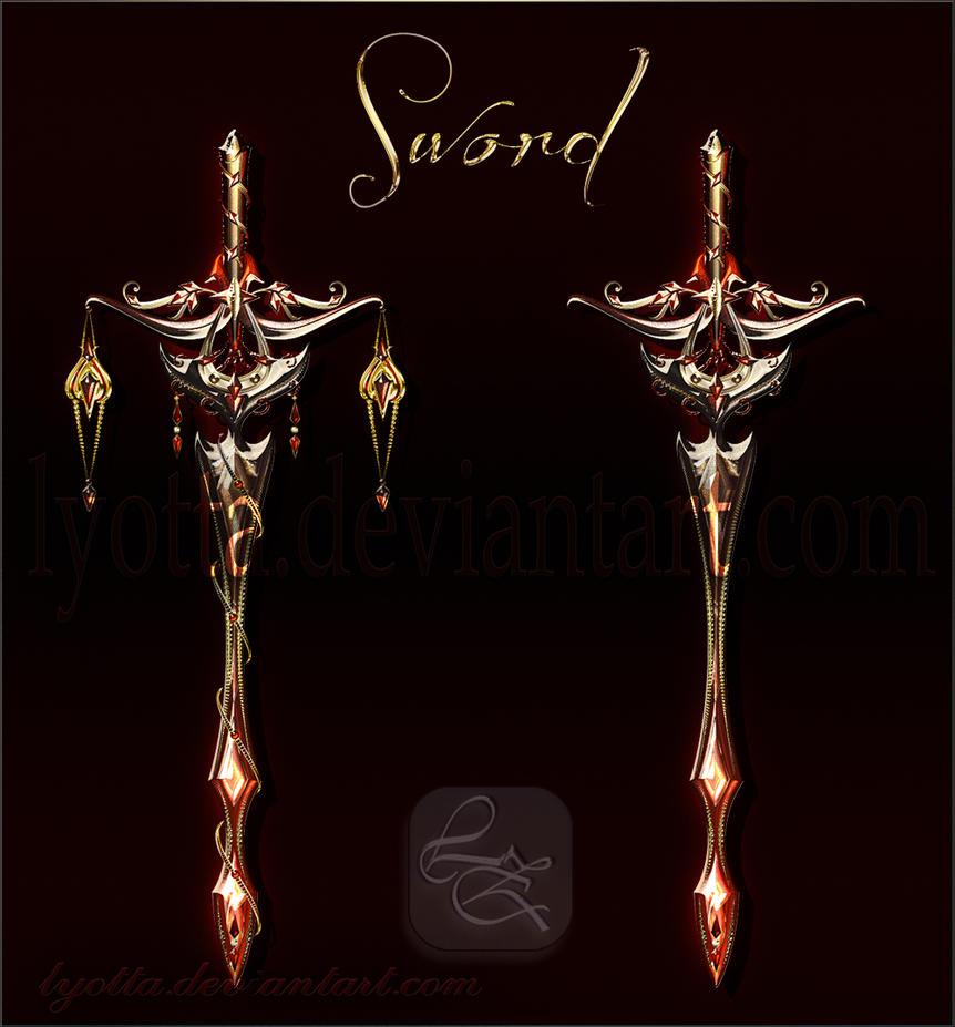 Magic sword lyotta 16 by Lyotta