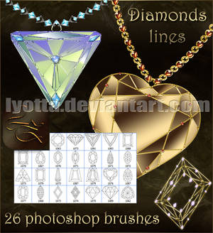 brushesPs diamond line lyotta