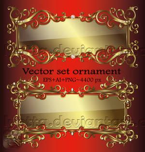 Ornaments design elements color LZ 22