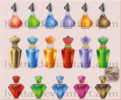 Design perfume cosmetics LZ 01