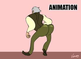 [LesMis] Valjean MAKIN MY WAY DOWNTOWN (Animation)
