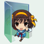 Vista-style Anime Folder Icon