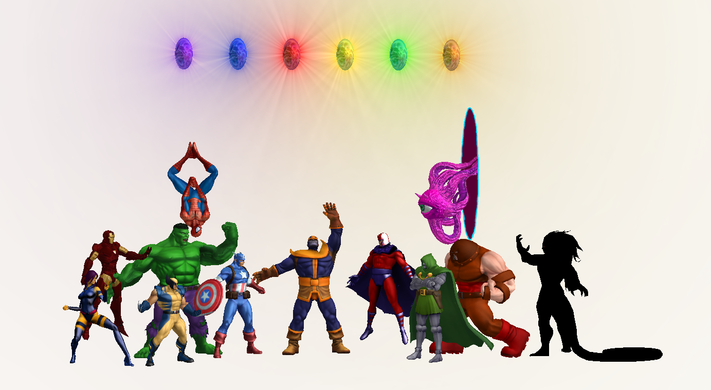 Infinity Gems for XNALara/XPS by Kaiology