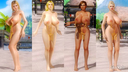 DOWNLOAD: Cavewoman Oasis costume pack [DOA5LR] by SaafRats