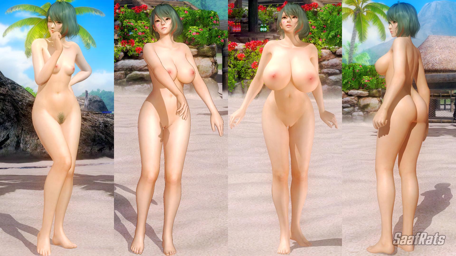[DOA5LR] [DL] TAMAKI - HLOD nude pack