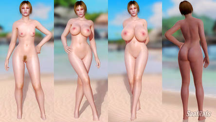 [DOA5LR] [DL] ANYA STROUD - HLOD nude pack by SaafRats