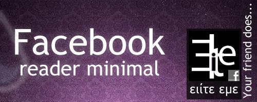 Facebook minimal by elite343