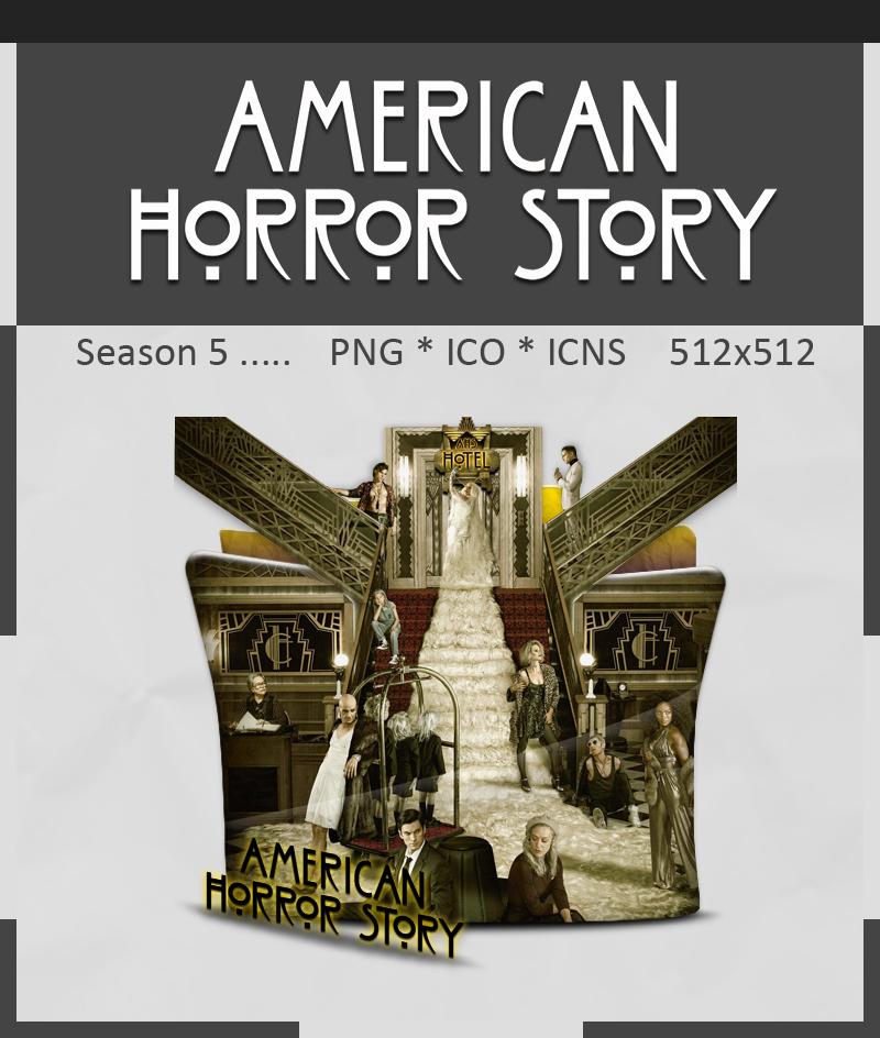 American Horror Story Season 5 Folder Icon by Kareembeast on DeviantArt