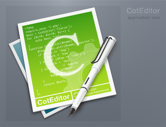 CotEditor Icon by 1024jp