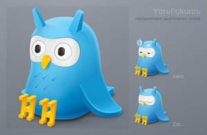 YoruFukurou Icons by 1024jp
