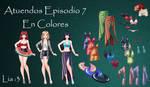 Atuendos Episodio 7 En Colores