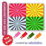 Sunburst Pop Set - Mixolution