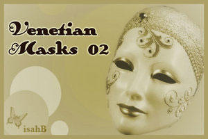 Venetian Masks brushes 02 by isahB