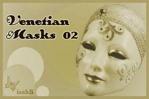Venetian Masks brushes 02 by isahB