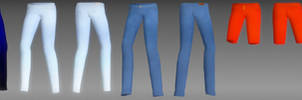 Female jeans pack DL