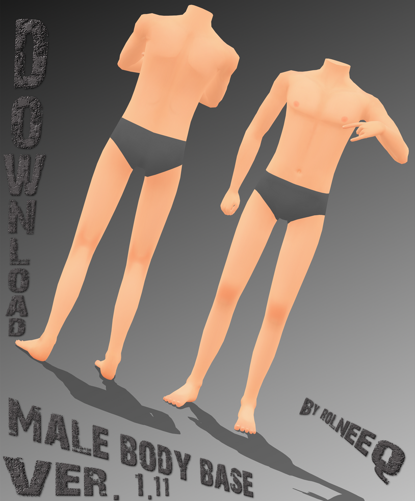 Male body base download update 1 11 by rolneeq