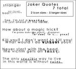 The Joker _ Quote Brushes