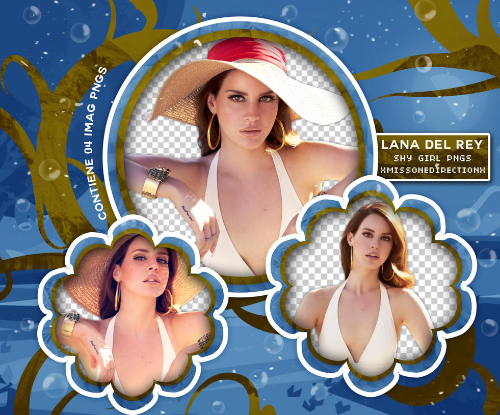 PACK PNG 204 // LANA DEL REY by xMissOneDirectionx
