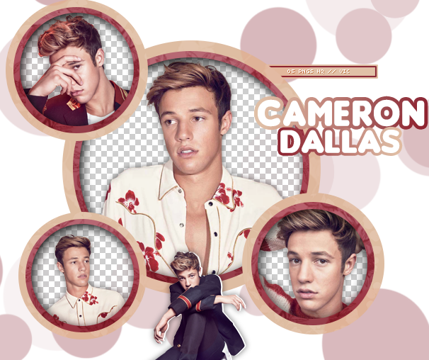 PACK PNG 284 // CAMERON DALLAS by xMissOneDirectionx