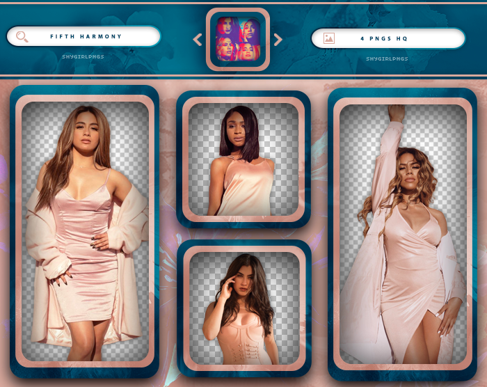 PACK PNG 393 // FIFTH HARMONY by xMissOneDirectionx