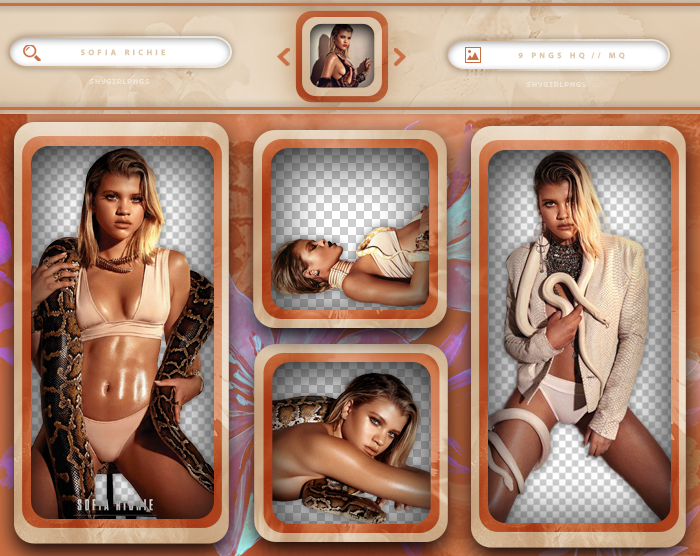 PACK PNG 397 // SOFIA RICHIE by xMissOneDirectionx