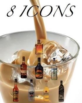 alcohool icons