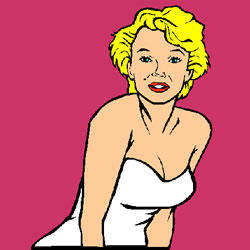 Marilyn Monroe Coloring
