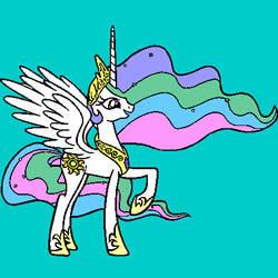 Princess Celestia Coloring