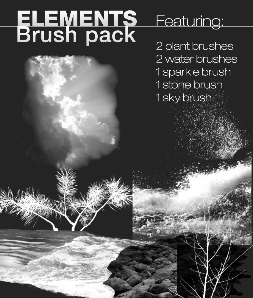 Elements Brush pack by Re-written