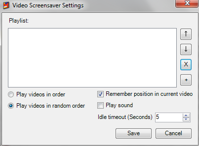 Download Video Screen Saver for windows 10 free version