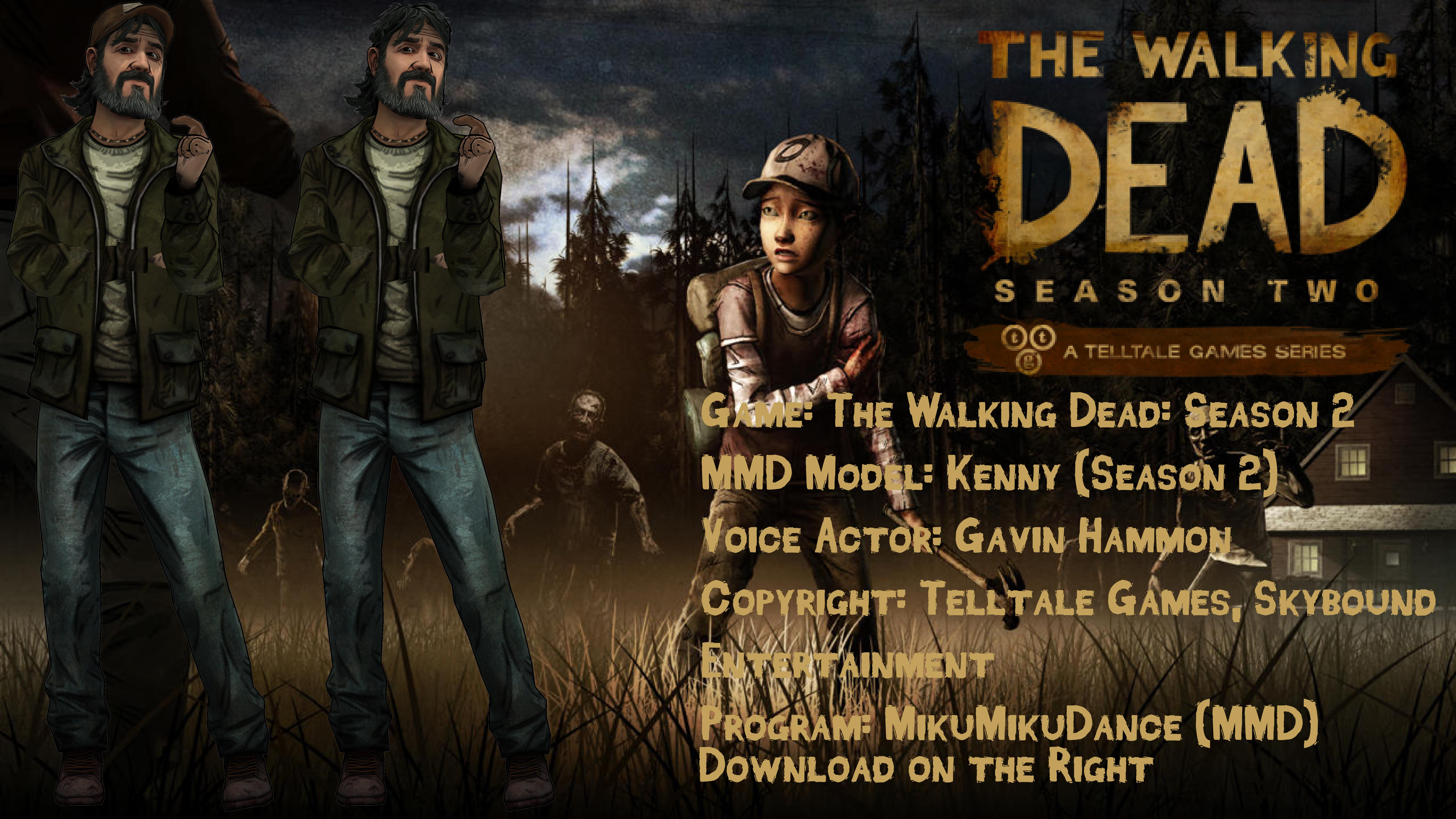 The Walking Dead MMD: Season 2 Kenny DL by Lilothestitch on