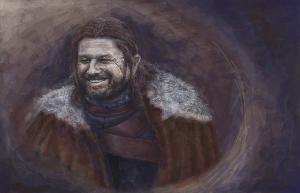 Eddard Stark - Lord of Winterfell by Liddl15