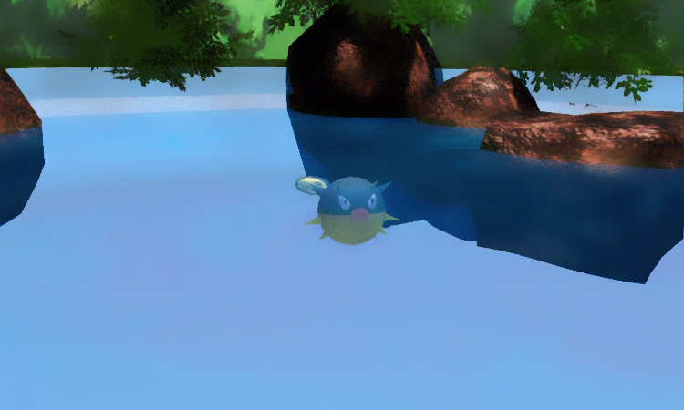 Pokemon Qwilfish MMD Download