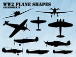 Custom Shapes: WW2 Planes
