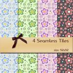 Seamless Floral Tiles 1