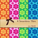 Seamless Floral Tiles 2