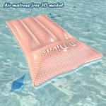 Air matress free 3D model