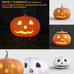 Jack o' Lantern Pumpkin - Free 3D model