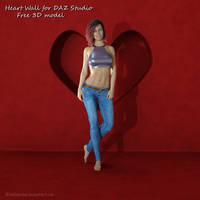 Heart Wall Free 3D model