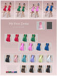 My First Dress for G8F and G3F (release)