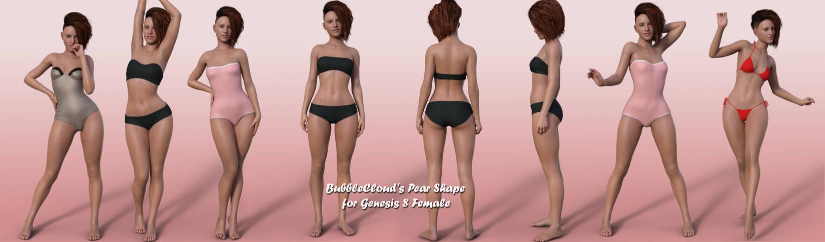 BubbleCloud's Pear Shape for G8F