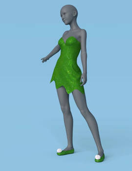 Leafy Dress 360
